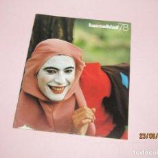 Cámara de fotos: ANTIGUA REVISTA Nº 19 DE HASSELBLAD 78 DEL AÑO 1984. Lote 209648000