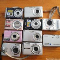 Cámara de fotos: LOTE DE 10 CAMARARAS DIGITALES. Lote 209671068