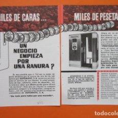 Cámara de fotos: PUBLICIDAD 1962 - EL PHOTOMATON AUTOMATIC. Lote 210009785