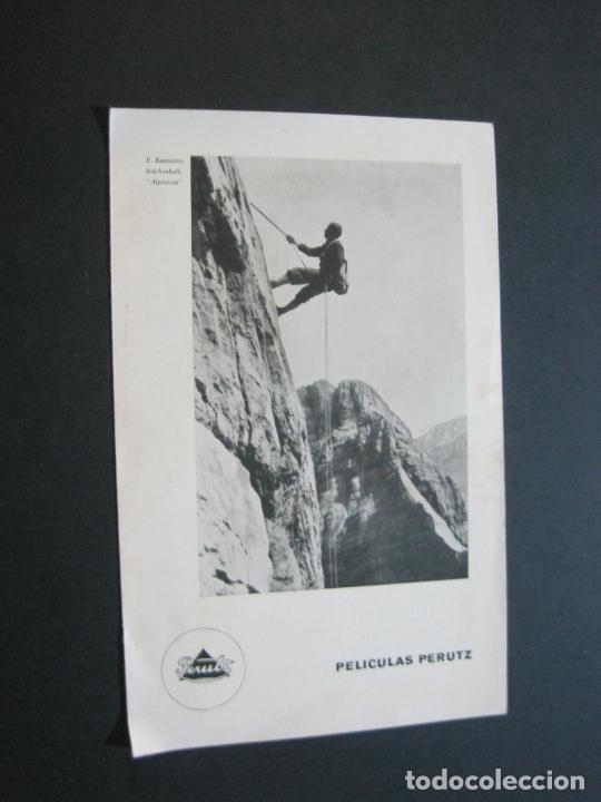 PERUTZ-PELICULAS PERUTZ-CATALOGO PUBLICIDAD ANTIGUO-VER FOTOS-(V-21.057) (Cámaras Fotográficas - Catálogos, Manuales y Publicidad)