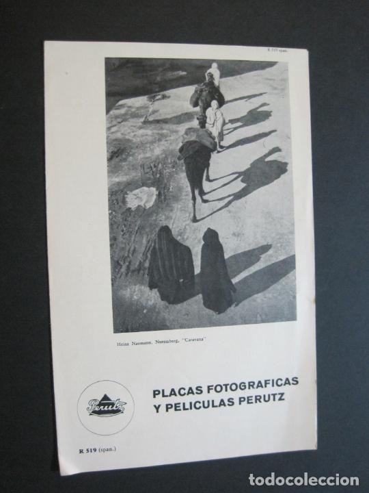 PERUTZ-PELICULAS PERUTZ-CATALOGO PUBLICIDAD ANTIGUO-VER FOTOS-(V-21.058) (Cámaras Fotográficas - Catálogos, Manuales y Publicidad)