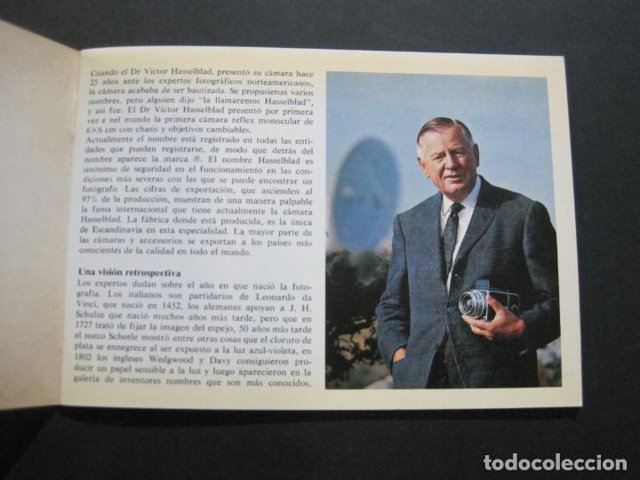 Cámara de fotos: CAMARA HASSELBLAD 1949 1975-CATALOGO PUBLICIDAD ANTIGUO-VER FOTOS-(V-21.059) - Foto 3 - 210249120