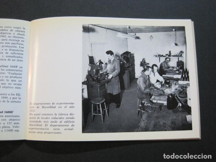 Cámara de fotos: CAMARA HASSELBLAD 1949 1975-CATALOGO PUBLICIDAD ANTIGUO-VER FOTOS-(V-21.059) - Foto 4 - 210249120