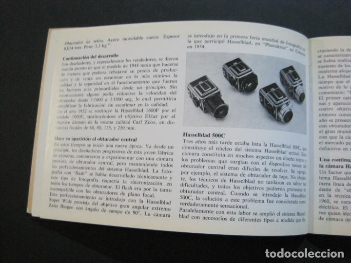 Cámara de fotos: CAMARA HASSELBLAD 1949 1975-CATALOGO PUBLICIDAD ANTIGUO-VER FOTOS-(V-21.059) - Foto 10 - 210249120