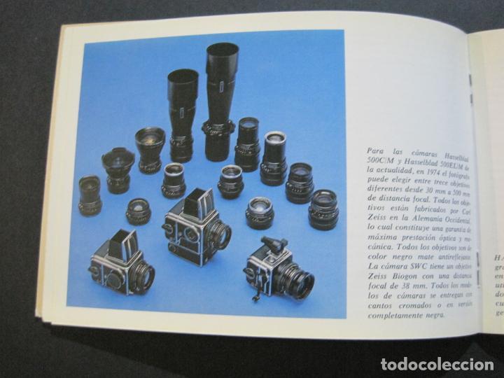 Cámara de fotos: CAMARA HASSELBLAD 1949 1975-CATALOGO PUBLICIDAD ANTIGUO-VER FOTOS-(V-21.059) - Foto 11 - 210249120