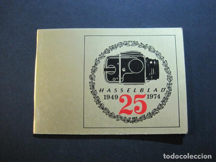 CAMARA HASSELBLAD 1949 1975-CATALOGO PUBLICIDAD ANTIGUO-VER FOTOS-(V-21.059) (Cámaras Fotográficas - Catálogos, Manuales y Publicidad)
