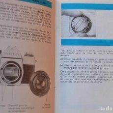 Cámara de fotos: MANUAL DE INSTRUCCIONES CAMERA PRAKTICA LLC RARO. Lote 210390131