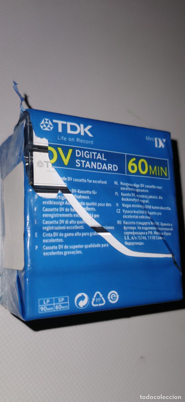 Cámara de fotos: 5 CINTAS MINI DV DIGITAL 60 MIN. TDK (PRECINTADA) - Foto 2 - 210520065