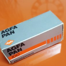 Cámara de fotos: PELICULA AGFA-PAN 100 ,FORMATO 120.. Lote 210525575