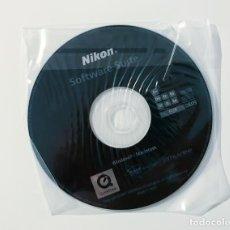 Cámara de fotos: CD NIKON SOFTWARE SUITE. Lote 212229113