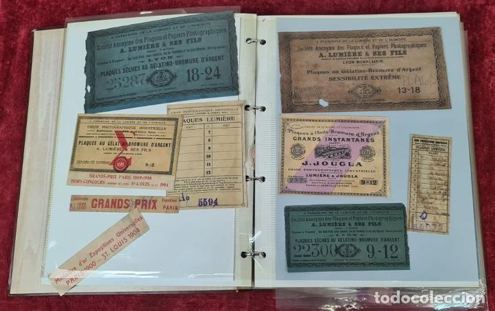 Cámara de fotos: ALBUM. COLECCION DE 162 TARGETAS DE PLACAS FOTOGRAFICAS. SIGLO XIX-XX. - Foto 6 - 213146185