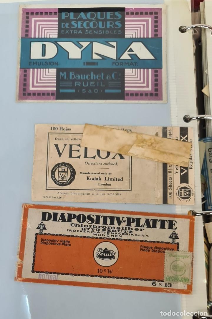 Cámara de fotos: ALBUM. COLECCION DE 162 TARGETAS DE PLACAS FOTOGRAFICAS. SIGLO XIX-XX. - Foto 7 - 213146185