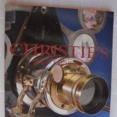 Fotocamere: MAYO 2003 CATALOGO CRISTIE`S LINTERNAS MÁGICAS CÁMARAS FOTOGRÁFICAS Y INSTRUMENTOS ÓPTICOS. Lote 213148320