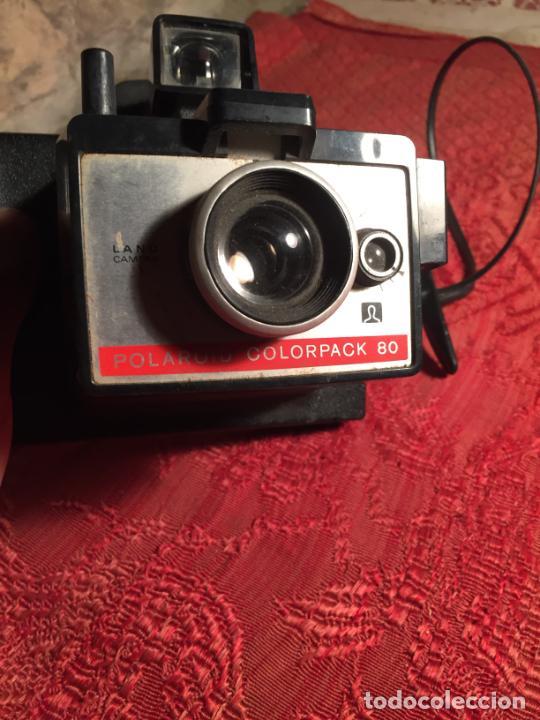 Cámara de fotos: Antigua cámara fotográfica Polaroid Land Camera colorpack Modelo 80 - Foto 2 - 213510677