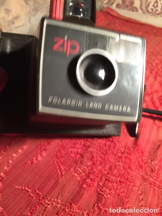 Cámara de fotos: Antigua cámara fotográfica Polaroid Land Camera zip años 60-70 - Foto 4 - 213510757
