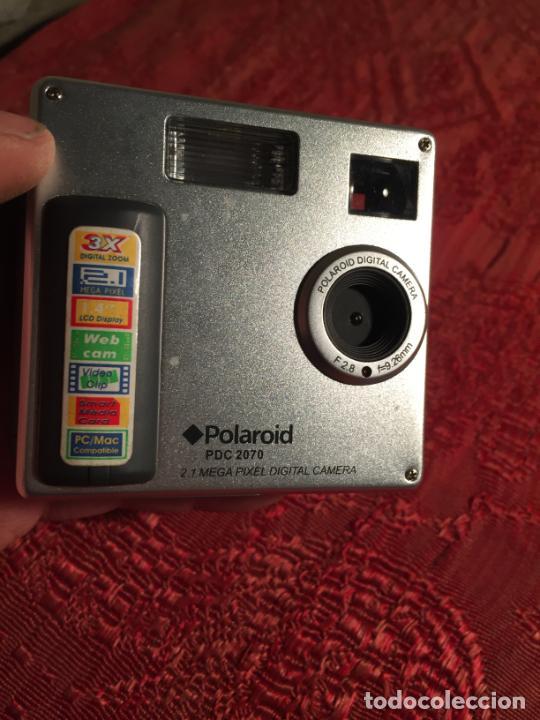 Cámara de fotos: Antigua cámara fotográfica Polaroid PDC 2070 digital actual - Foto 7 - 213510793