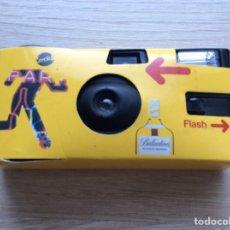 Cámara de fotos: CÁMARA DE FOTOS PROPAGANDA BALLANTINES. Lote 214574466