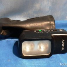 Cámara de fotos: FLASH SONY HVL-20DX .....CON SU FUNDA.. Lote 214771907