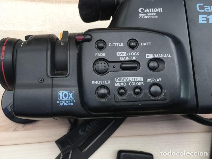 Cámara de fotos: VIDEO CÁMARA CANON CANOVISION E100 con batería, cargador y mando. - Foto 2 - 214833932