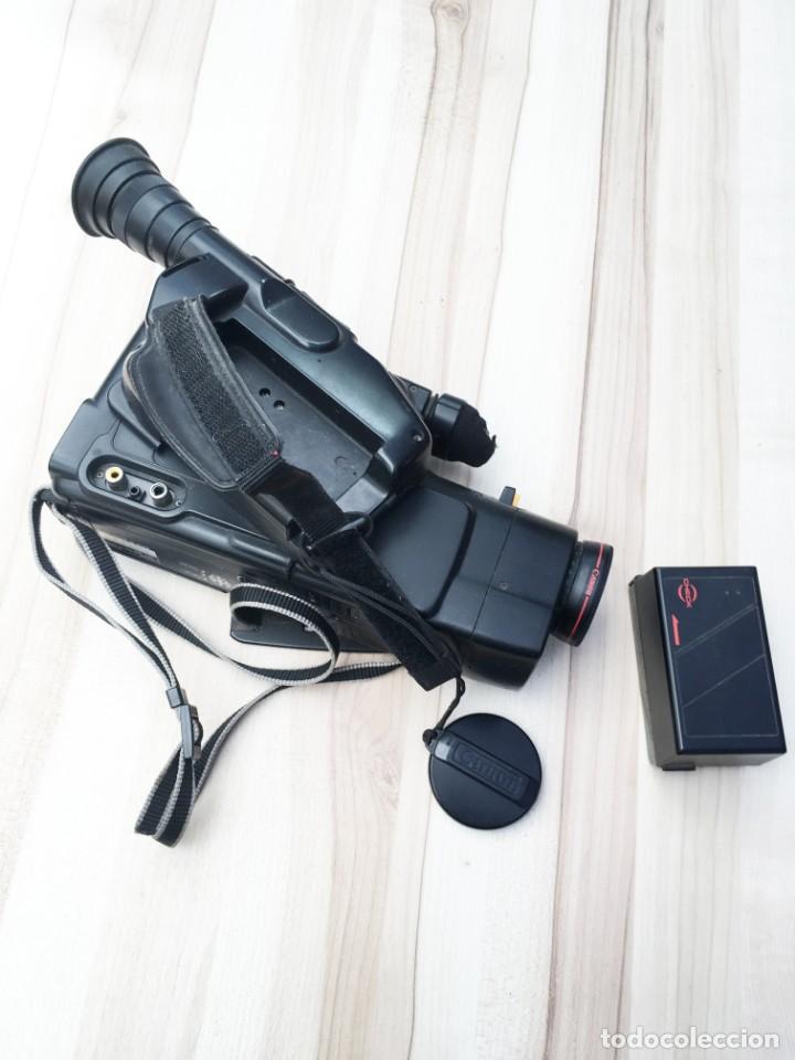 Cámara de fotos: VIDEO CÁMARA CANON CANOVISION E100 con batería, cargador y mando. - Foto 5 - 214833932