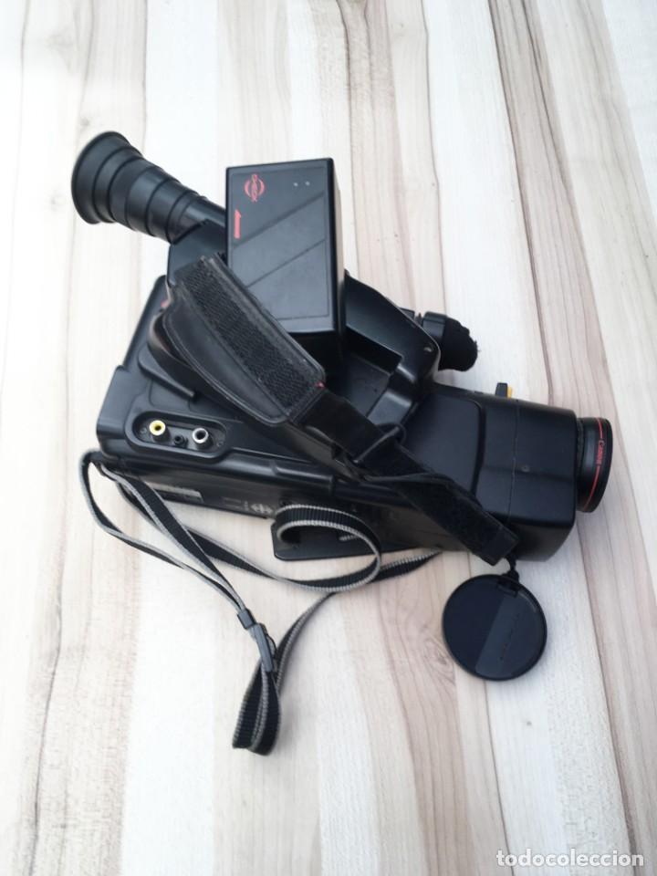 Cámara de fotos: VIDEO CÁMARA CANON CANOVISION E100 con batería, cargador y mando. - Foto 6 - 214833932