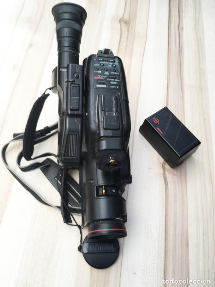 Cámara de fotos: VIDEO CÁMARA CANON CANOVISION E100 con batería, cargador y mando. - Foto 7 - 214833932