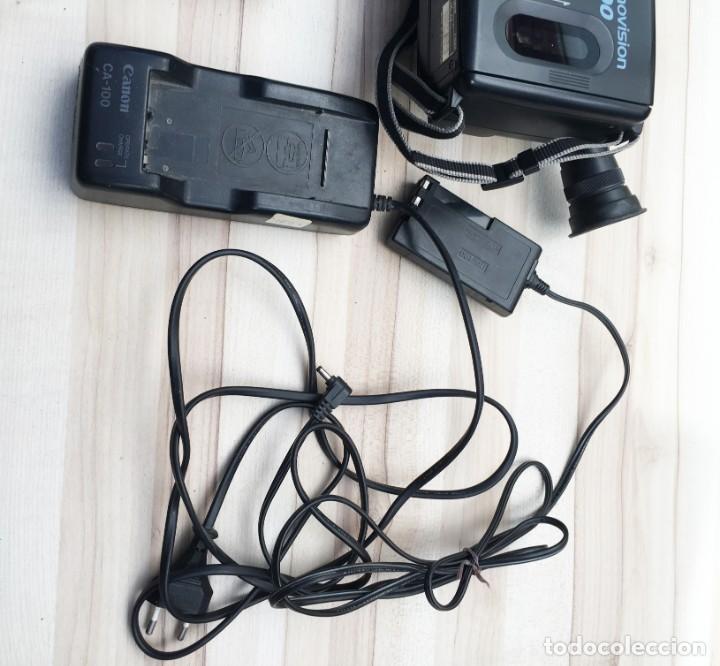 Cámara de fotos: VIDEO CÁMARA CANON CANOVISION E100 con batería, cargador y mando. - Foto 10 - 214833932