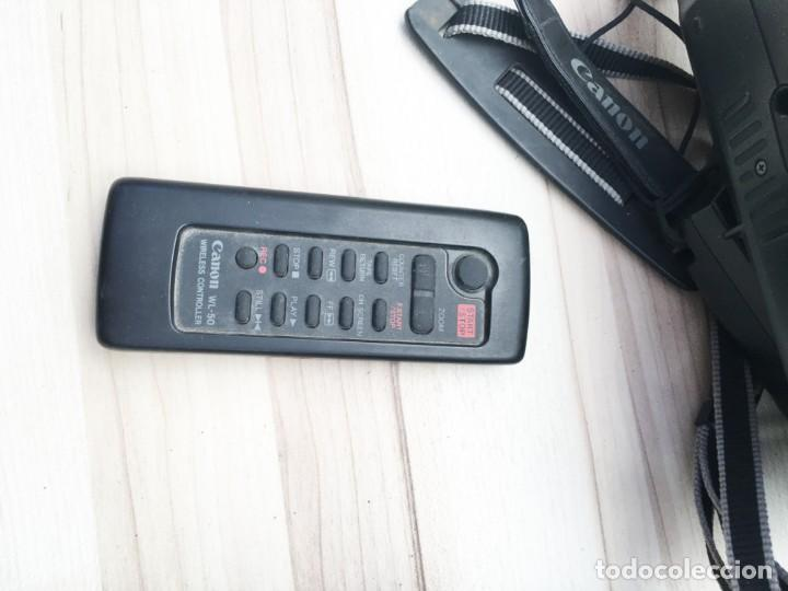 Cámara de fotos: VIDEO CÁMARA CANON CANOVISION E100 con batería, cargador y mando. - Foto 11 - 214833932