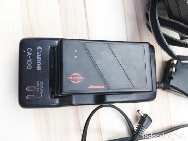 Cámara de fotos: VIDEO CÁMARA CANON CANOVISION E100 con batería, cargador y mando. - Foto 12 - 214833932