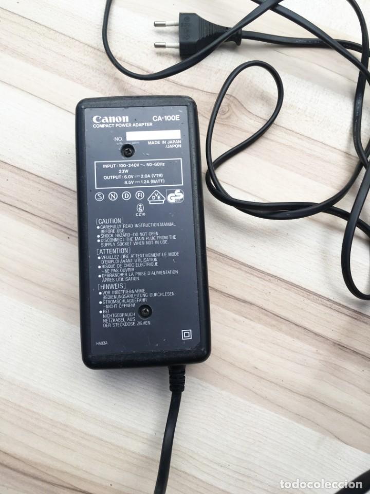 Cámara de fotos: VIDEO CÁMARA CANON CANOVISION E100 con batería, cargador y mando. - Foto 15 - 214833932