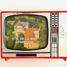 Cámara de fotos: VISOR DE IMAGENES EN TELEVISOR ANTIGUO. SANTUARIO DE LA BIEN APARECIDA ( CANTABRIA) 8 IMAGENES. 1970. Lote 215085751