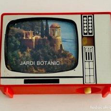 Cámara de fotos: VISOR DE IMAGENES EN TELEVISOR ANTIGUO. JARDI BOTANIC AÑO 1970 8 IMAGENES. Lote 215085848