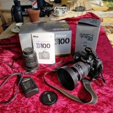 Cámara de fotos: EXTRAORDINARIA NIKON D-100 (DIGITAL) CON TELEOBJETIVO GRAN ANGULAR SIN APENAS USO POR SÓLO QUINIENT. Lote 215283250