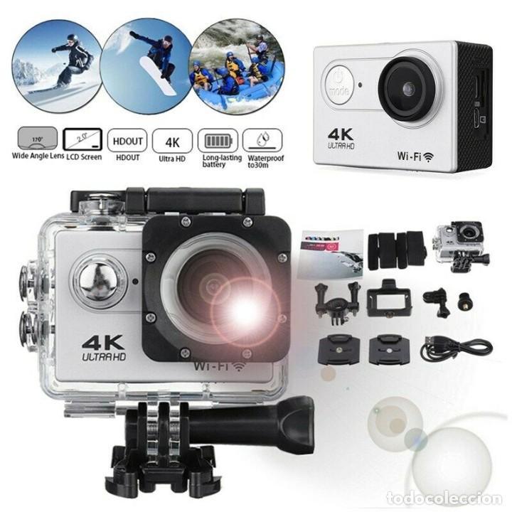 "CAMARA DEPORTIVA ULTRA HD WIFI 4K 2"" LCD - NUEVA (Cámaras Fotográficas - Otras)"