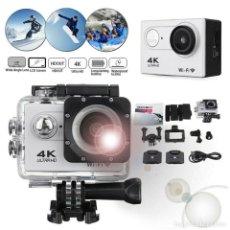 """Cámara de fotos: CAMARA DEPORTIVA ULTRA HD WIFI 4K 2"""" LCD - NUEVA. Lote 215568596"""