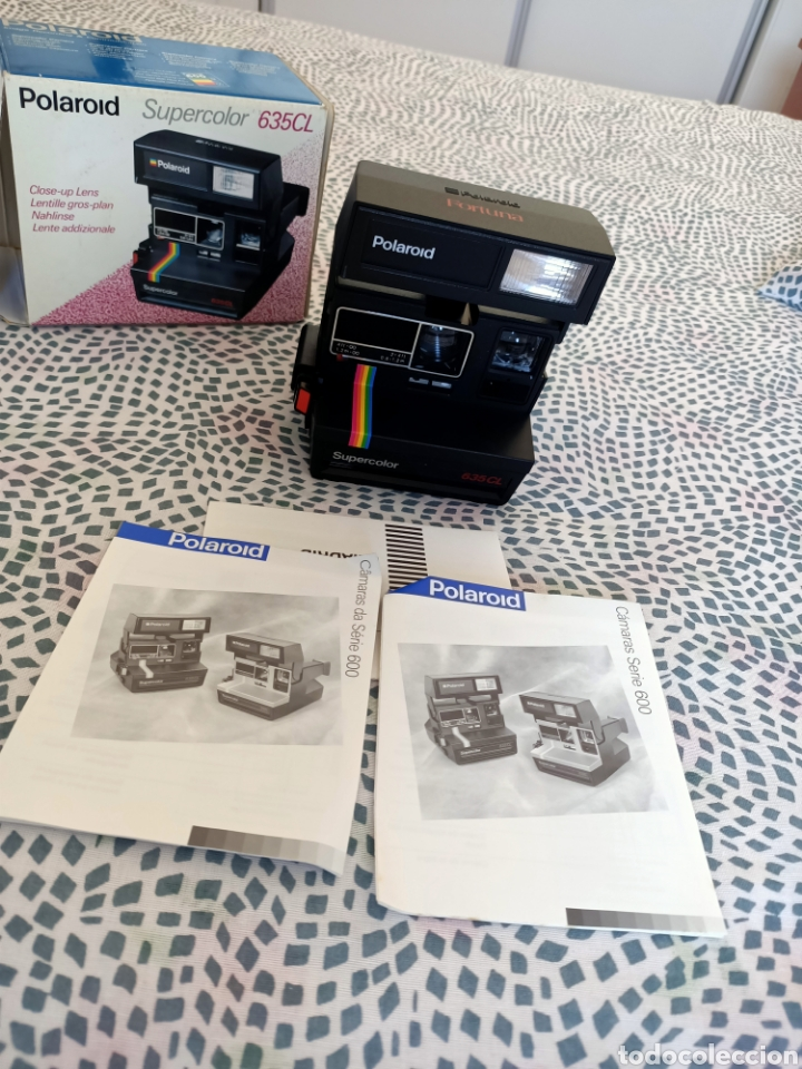 Cámara de fotos: Polaroid supercolor 635CL - Foto 2 - 216485386