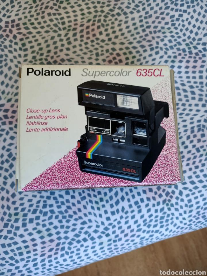POLAROID SUPERCOLOR 635CL (Cámaras Fotográficas - Otras)