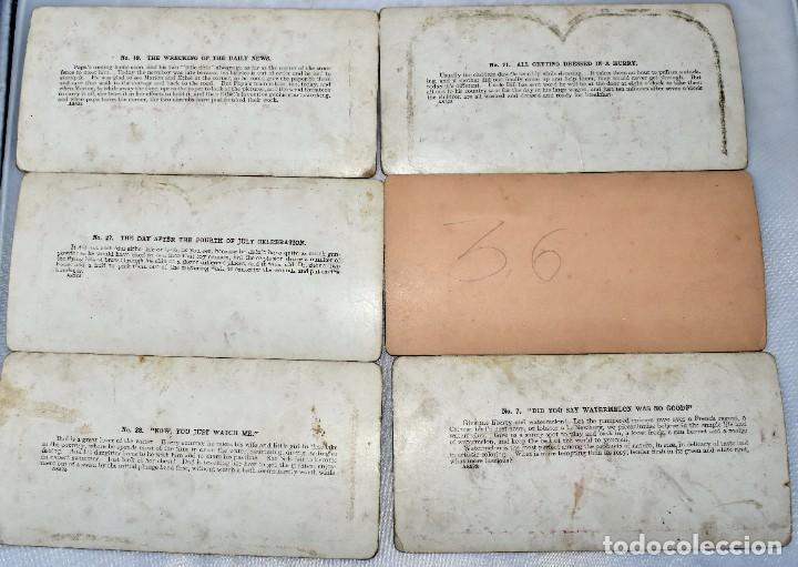 Cámara de fotos: SIGLO XIX. VISOR ESTEREOSCOPICO..ESTEREOSCOPIO, EN NOGAL+13 FOTOS.ARTESANAL.MUY BUEN ESTADO.FUNCIONA - Foto 17 - 216606155