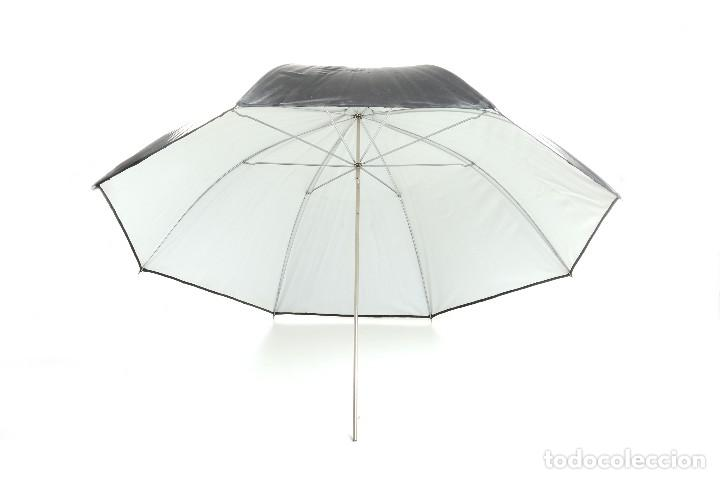 Cámara de fotos: Antiguo paraguas reflector Eurosimer para fotografía de estudio - Foto 2 - 216707928