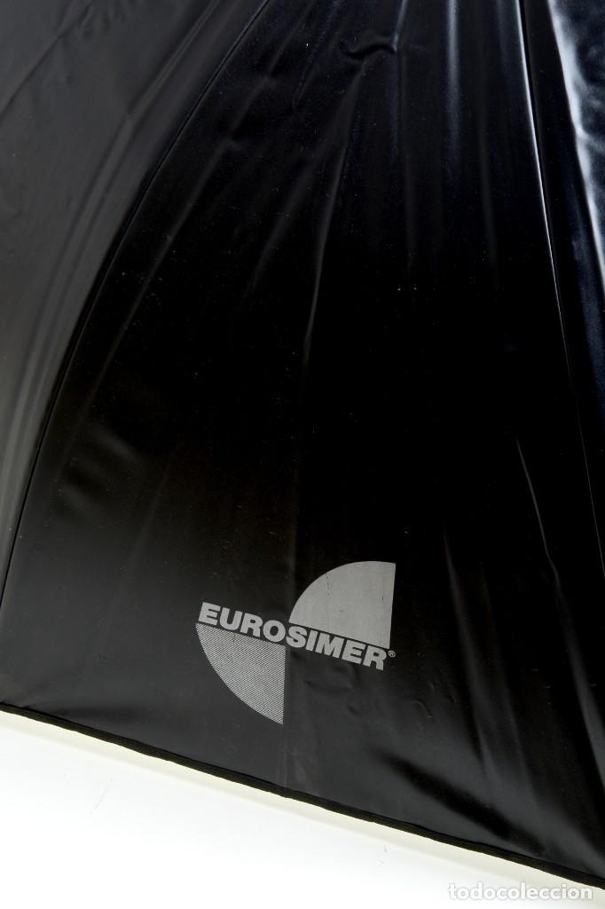 Cámara de fotos: Antiguo paraguas reflector Eurosimer para fotografía de estudio - Foto 5 - 216707928