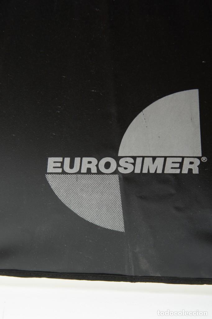 Cámara de fotos: Antiguo paraguas reflector Eurosimer para fotografía de estudio - Foto 8 - 216707928