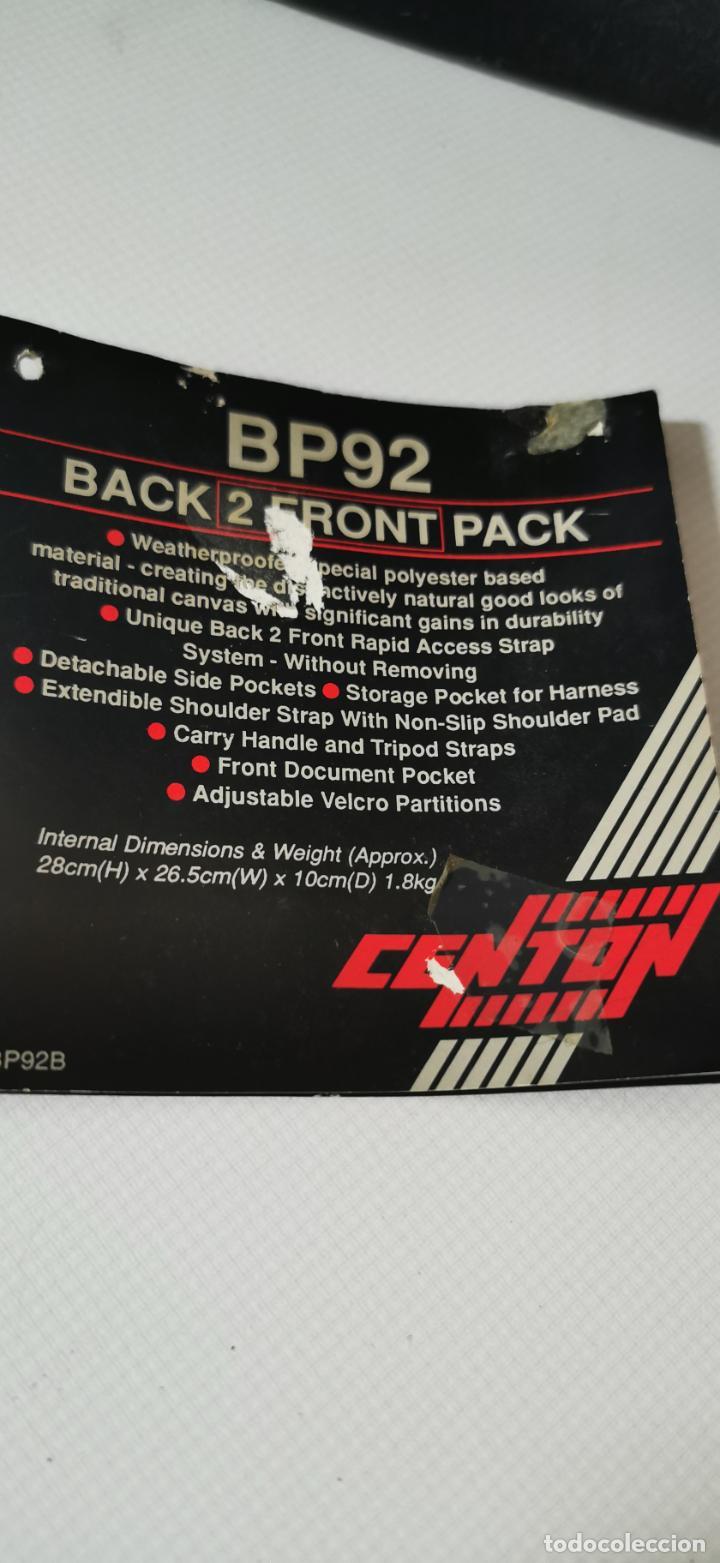 Cámara de fotos: Gran mochila para equipo fotografico Centon bp92 numerosos bolsillos y diversas formas de llevarla - Foto 7 - 217567010