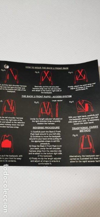 Cámara de fotos: Gran mochila para equipo fotografico Centon bp92 numerosos bolsillos y diversas formas de llevarla - Foto 8 - 217567010