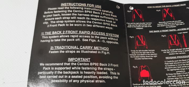 Cámara de fotos: Gran mochila para equipo fotografico Centon bp92 numerosos bolsillos y diversas formas de llevarla - Foto 9 - 217567010