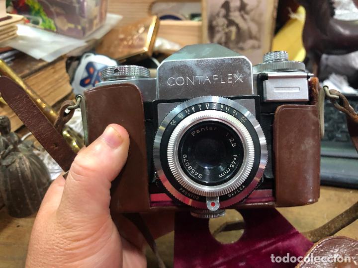 CAMARA DE FOTOS CONTAFLEX CON ESTUCHE ORIGINAL (Cámaras Fotográficas - Otras)