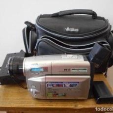 Cámara de fotos: CÁMARA DE VIDEO PANASONIC NV-VS4 SLIM VISIÓN. Lote 218130823