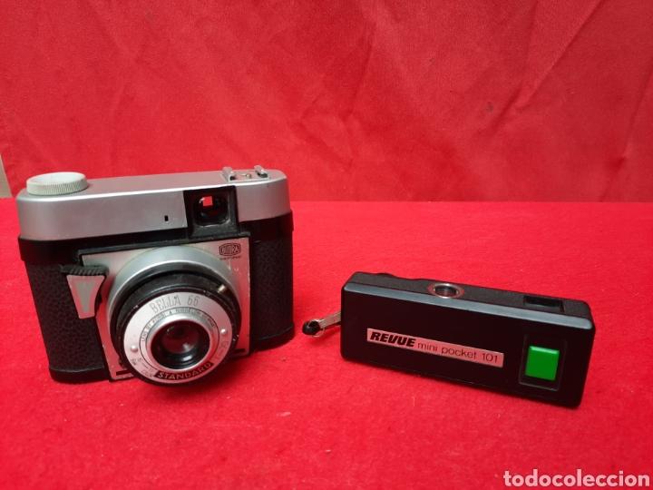 2 CÁMARAS DE FOTOS VINTAGE (Cámaras Fotográficas - Otras)