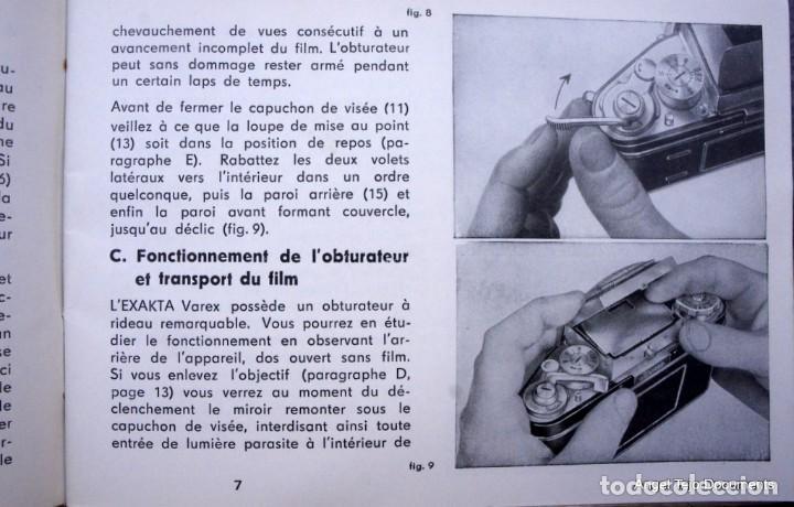Cámara de fotos: Manual Exakta Varex II a .Excepcional.En Francés. - Foto 3 - 218595775