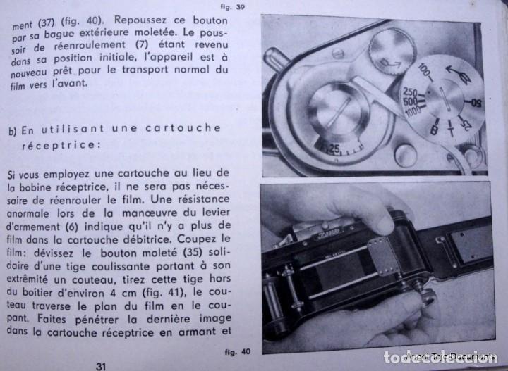 Cámara de fotos: Manual Exakta Varex II a .Excepcional.En Francés. - Foto 6 - 218595775