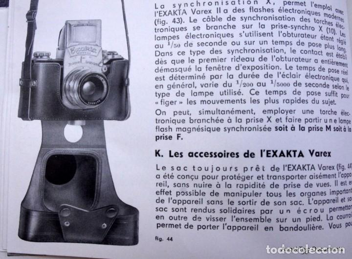 Cámara de fotos: Manual Exakta Varex II a .Excepcional.En Francés. - Foto 8 - 218595775